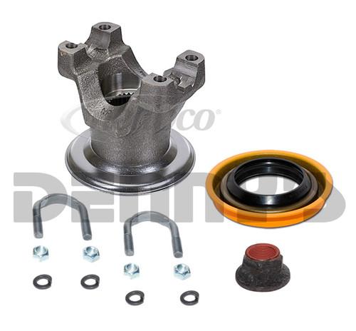 N2-4-FD01XKT Pinion Yoke Kit Ford 9 inch 1310 Series 28 splines 4 inches tall fits 3.219 x 1.062 u-joint