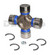 Dana Spicer 5-3147X greaseable universal joint fits Buick 1961 to 1996 with INSIDE CLIPS