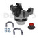 9510117 Chromoly Pinion Yoke 1350 series fits Ford 8.8 includes pinion nut and u-bolt set