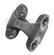 DANA SPICER 2-26-497  Double Cardan CV H Yoke 1310 Series for 1967 to 1977 CHEVY K5, K10, K20, K30 OUTSIDE SNAP RING