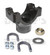 9522421 CHROMOLY Pinion Yoke 1350 series fits Ford Dana 60, 61, 70 front or rear with 29 Spline pinion