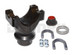 9592999 CHROMOLY Pinion Yoke KIT 1350 series 28 splines 4 inches tall fits Ford 9 inch with either SMALL or LARGE bearing pinion support 3.625 x 1.187 u-joint