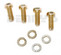 CV Flange Bolts fits 1978 to 1991 Chevy and GMC 3R series Front Driveshaft