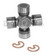 Dana Spicer 5-7439X NON Greaseable Universal Joint 67 to 73 Ford Mustang outside snap ring style 3.219 inch cap to cap 1.062 and 1.125 inch cap diameter - Use at rear end