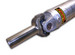 Denny's AL4-1350-64 Aluminum Driveshaft with Sonnax Chromoly slip yoke 4 inch OD 1350 series custom built up to 64 inch CL
