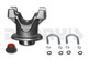 9000472 Pinion Yoke KIT 1330 Series 28 splines 4 inches tall fits Ford 9 inch rear end 3.625 x 1.125 u-joint Ford BIG Cap