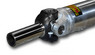 1350 Series 3.5 inch Aluminum Driveshaft with CHROMOLY SLIP YOKE up to 57 inch CL