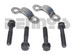 Neapco 1-0024 strap and bolt set fits Tab Style GM 7.5, 8.2, 8.5 inch 10 Bolt and Chevy 12 bolt with 1310/1330 Tab Style Pinion Yoke designed for 1.062 bearing cap