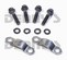 "Neapco 1-0025 strap and bolt set fits Inside ""C"" Clip Style GM 7.5, 7.6, 8.5, 8.6 10 Bolt and 9.5 inch 14 bolt with 3R Series Pinion Yoke designed for 1.125 bearing cap"