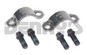 DANA SPICER 3-70-28X Strap and Bolt set fits 1.187 bearing cap diameter 1.806 CL on 1350/1410 series Dana 60, 61, 70, 80 pinion yokes designed for 1.187 diameter u-joint bearing caps