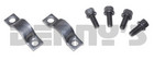 NEAPCO 1-0023 Strap and Bolt Set DODGE 7260 Series Fits 1.078 u-joint bearing caps for OEM Pinion Yoke