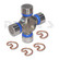 Dana Spicer 5-213X BUICK UNIVERSAL JOINT -  59-63 Electra, 59-63 Lesabre, 57-58 Roadmaster, 62-63 Wildcat  with OUTSIDE CLIPS - SPICER GREASEABLE