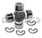 Dana Spicer 5-1310X NON Greaseable Universal Joint 67 to 73 Ford Mustang outside snap ring style 3.219 inch cap to cap 1.062 inch cap diameter - Use at transmission end