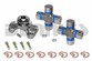 CV-355-1 Rebuild Kit for JEEP with 1310 series Front/Rear CV Driveshaft includes Spicer greaseable 211355X CV Centering Yoke and (2) 5-153X greaseable U-Joints