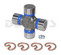 Dana Spicer 5-153X Greaseable universal joint fits 1997 to 2006 Jeep Wrangler TJ 1310 series front driveshaft u-joint with GREASE fitting in body