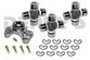 Jeep CV Rebuild Kit 1310 series includes Spicer 211355X Centering Yoke and (3) 5-1310X U-Joints