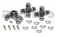 Jeep CV Rebuild Kit 1310 series includes Spicer 211355X Centering Yoke and (2) 5-1310X U-Joints