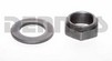 Chevy 12 Bolt PINION NUT and WASHER Set