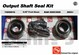 AAM 74050016 - AXLE SEAL KIT fits 2003 and newer DODGE Ram 2500, 3500 with 9.25 inch AAM Front Axle
