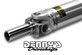 Denny's AL3.5-1310 Aluminum Driveshaft 3.5 inch tube diameter complete with Dana Spicer U-joints and 1310 slip yoke UP to 57 inch CL