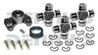 CV-544-3 Rebuild Kit for JEEP with OEM 1310 series NON GREASEABLE Front/Rear CV Driveshaft includes Spicer 211544X NON Greaseable CV Centering Yoke (3) 5-1310X NON greaseable U-Joints (1) 2-86-418 Rubber Boot (4) Bolts