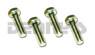 DODGE Front Driveshaft CV Yoke Bolts .312 x 24 Fine Thread fits Dana Spicer 211355X, 211544X centering yokes