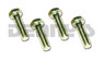 BOLT SET .312 x 24 Fine Thread Grade 8 for Jeep with 1310/1330 Double Cardan CV Driveshaft fits Greaseable and Non Greaseable Dana Spicer 211355X, 211544X, 211179X, 211996X and all other brands of CV centering yokes