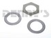 Dana Spicer 701166X Front Axle Thrust Washer Kit 1998 to 2002 FORD F-250, F-350, EXCURSION with Dana 50 Front Axle