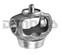 DANA SPICER 2-28-2957X CV Ball STUD YOKE 1310 Series to fit 2.5 inch .083 wall tube