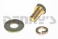 1958 to 1964 Chevrolet  55-72 Truck Bolt, Lock Washer and Flat Washer for OE Driveshaft