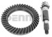 Dana Spicer 25784X Ring and Pinion GEAR SET 5.86 ratio (41-07) fits 1954 to 2014 Dana 60 standard rotation FRONT/REAR end