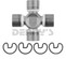 Dana Spicer 5-3613X Universal Joint 1310 Series COATED for ALUMINUM DRIVESHAFTS