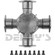 DANA SPICER 5-281X Universal joint 1810 Series Bearing Plate Style