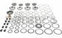 DANA SPICER 2017096 Differential Bearing Master Kit fits Dana 44 Rear 2001, 2002, 2003 Jeep Wrangler TJ