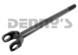 Dana Spicer 10007808 CHROMOLY RIGHT INNER Axle Shaft fits 1978 to 1987 Chevy GMC Jimmy, K5 Blazer, K10, K15, K20, K25, K30, K35 with 8.5 inch 10 Bolt front axle 28 SPLINES