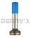 DANA SPICER 2-40-1711 SPLINE Fits 2.5 inch .083 wall tube  1.375 inch Diameter with 16 Splines