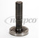 NEAPCO N2-81-1181 FRONT DRIVESHAFT spline shaft with flange for CV fits NVG 246 AutoTrac Transfer Case 1999 and newer GM 4x4