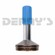 Dana Spicer 4-40-781 SPLINE Fits 4.0 inch .083 wall tubing 1.750 inch Diameter with 16 Splines