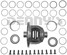 Dana Spicer 708027 DANA 80 Open Differential Carrier Loaded Assembly for 1.5 inch 35 spline axles fits 3.73 ratio and down - FREE SHIPPING