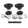 Dana Spicer SVL 2023882 INNER GEAR KIT SPIDER GEARS fits Chevy 12 Bolt Car and Truck Eaton style POSI rear differential with 30 spline C Clip axles
