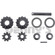 Dana SVL 10020714 INNER GEAR KIT SPIDER GEARS fits 1966 to 1971 Ford BRONCO Dana 30 FRONT differential with 27 spline axles