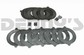 Dana Spicer 701151X TRAC LOK DANA 60 Positraction clutch plate kit STEEL CLUTCHES