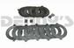 Dana Spicer 701151X TRAC LOK DANA 60 Positraction clutch plate kit STEEL CLUTCHES