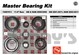 AAM 74067011 master bearing kit fits GM 11.5 inch 14 bolt rear 2001-2011 Chevy and GMC