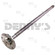 Dana SVL 2022626-1 REAR Axle Shaft fits Chevy 12 bolt rear end 1965 to 1972 Chevelle and El Camino, 1967 to 1969 Camaro, 1965 to 1967 Malibu 30 spline, 29.75 inches fits RH and LH