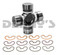 Dana Spicer 5-1350X Universal Joint NON Greaseable 1350 series fits Cobra Kit Car driveshafts with outside snap rings 3.625 wide with 1.188 bearing caps
