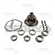 Dana Spicer 708216 DANA 44 LOADED Open Standard Carrier Kit fits 2003 to 2006 Jeep TJ with 3.73 and DOWN ratio gears with 30 spline axles drilled for 7/16 ring gear bolts - FREE SHIPPING