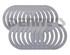 Dana Spicer 701005X SHIM Kit for DANA 44 differential side bearings package of 16 shims