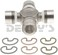 Dana Spicer 5-7438X NON Greaseable u-joint 1330 Series fits 67 to 73 Ford Mustang outside snap ring style 3.625 inch cap to cap 1.062 and 1.125 inch cap diameter - Use at rear end