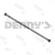 Dana Spicer 9553-4724 PTO Driveshaft 1310 series 2.0 inch .083 tubular unwelded assembly